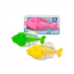 Gomme Piranha jaune