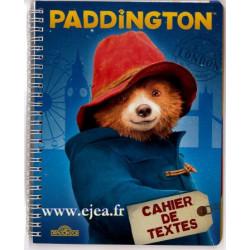 Cahier de textes Paddington