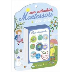 Mon calendrier Montessori...