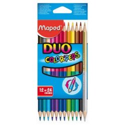Color'Peps Duo 12 crayons...