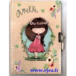 Journal intime Anekke fleurs