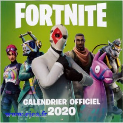 Calendrier 2020 Fortnite...