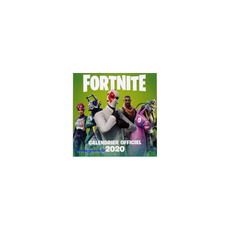 Calendrier 2020 Playmobil.Calendrier 2020 Fortnite Officiel