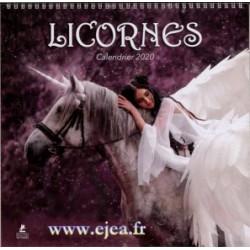 Calendrier 2020 Licornes