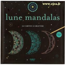 Lune Mandalas 10 cartes à...