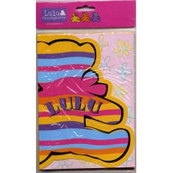 Lulu Castagnette 10 cartes...