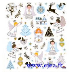 Stickers Classy Noël Anges