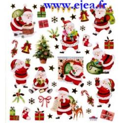 Stickers Classy Noël Pères...