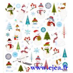Stickers Classy Noël sur la...