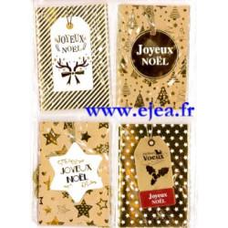 Set de 8 mini cartes Noël...