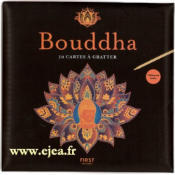 Bouddha 10 cartes à gratter