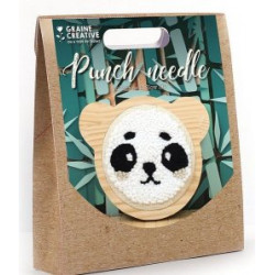 Punch Needle Panda