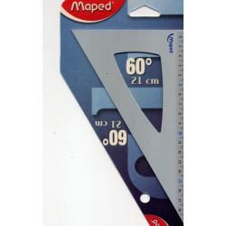 Equerre en aluminium 60° Maped