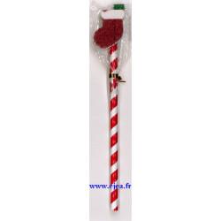 Crayon et gomme Botte de Noël