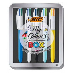Bic My 4 Colours Box