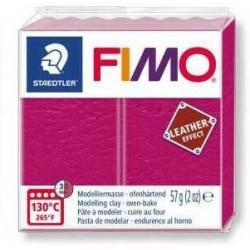 Fimo Effet Cuir Framboise 229