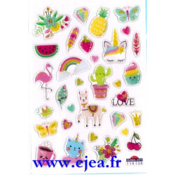 Stickers Mini Sweet Tendance