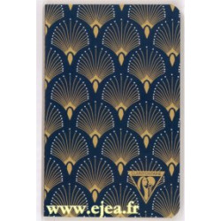 Carnet Neo Deco A6 Paon
