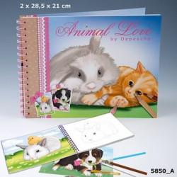 Animal Love cahier de...