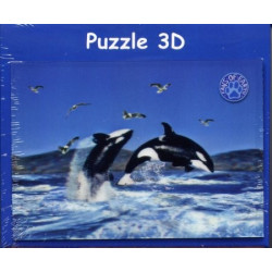 Puzzle 3D Orques