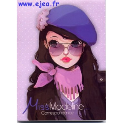Miss Modeline Bloc A6 violet