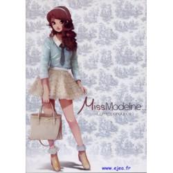 Miss Modeline Bloc A4 bleu