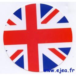 Carte ronde Angleterre