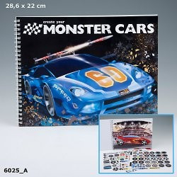 Monster Cars cahier de...