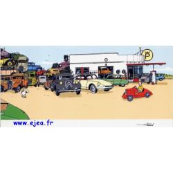 Carte Le garage de la plage
