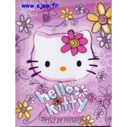 Hello Kitty Cahier de textes