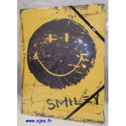 Chemise Smiley World jaune