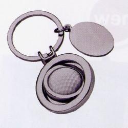 Porte-clé métal balle de golf