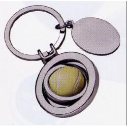 Porte-clé métal balle de...