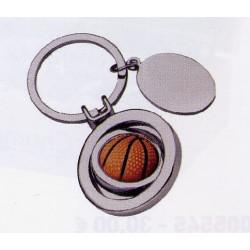 Porte-clé métal ballon de...