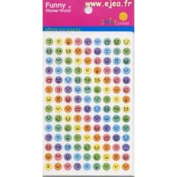 Funny Sticker World smile