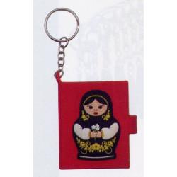 Carnet porte clé Matriochka...