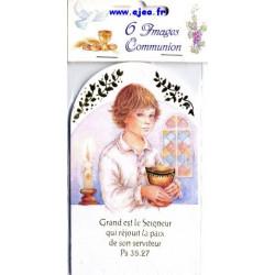 Images de communion Garçon...