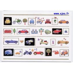 Carte postale Hanra Voitures