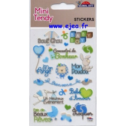 Stickers Mini Tendy Naissance