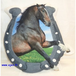 coussin forme cheval