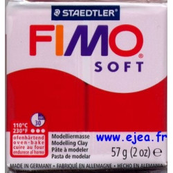 Fimo Soft Rouge Noël