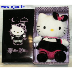 Hello Kitty peluche gothique