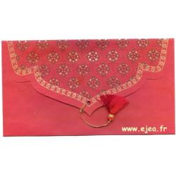 Enveloppe cadeau rouge...