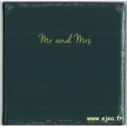 Livre d'or mariage Mr and Mrs