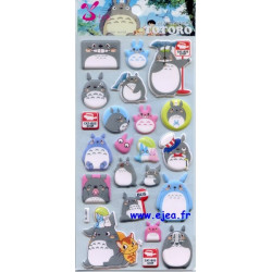 Stickers Totoro Cat-Bus Stop