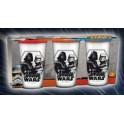 Star Wars Pack de 3 verres