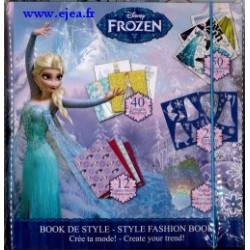 Reine des Neiges Book de style