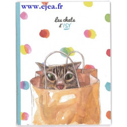 Cahier Les Chats d'Isy Le sac