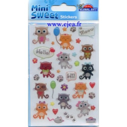 Stickers Mini Sweet Chatons...