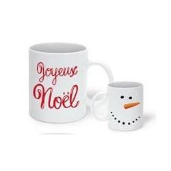 Mug Joyeux Noël Bonhomme de...